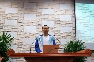 4월 1일 김성진형제 입대인사